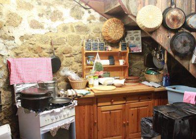 Küche im Turm