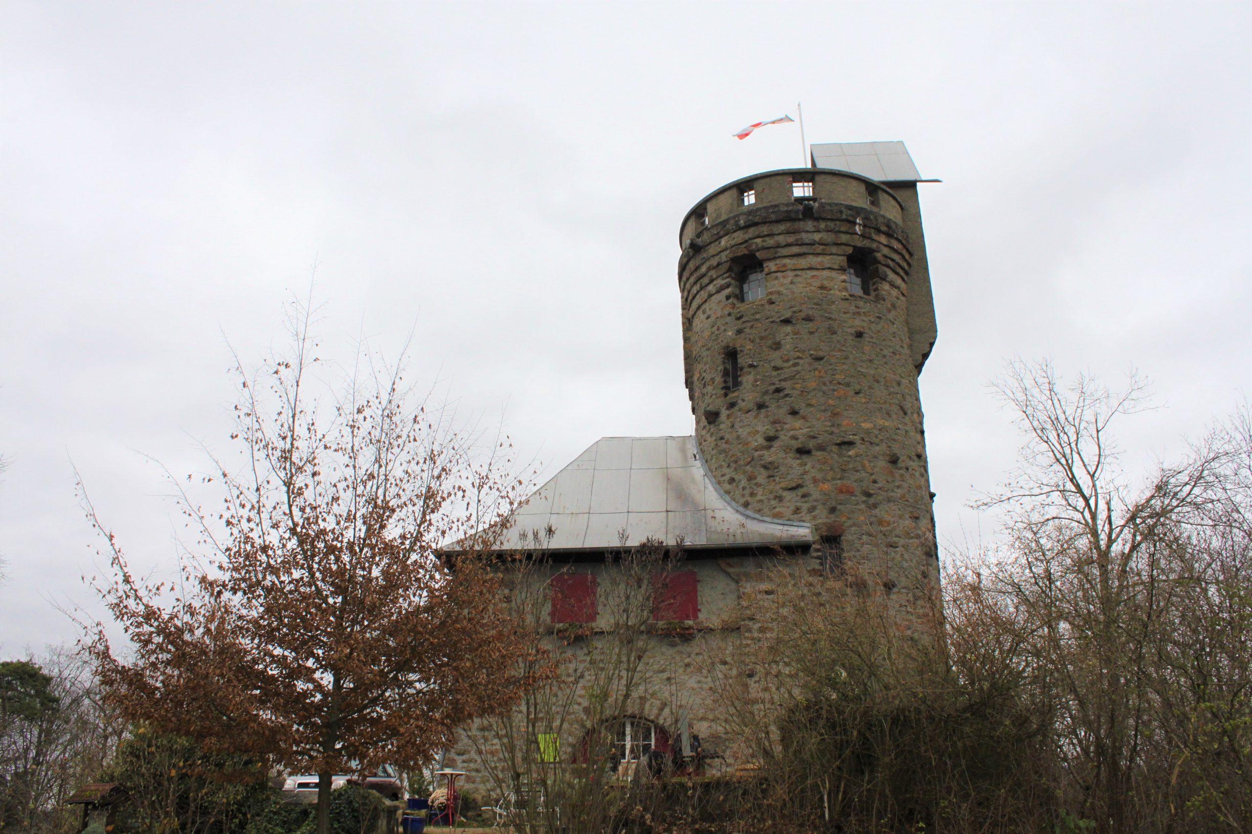 Turm im Winter